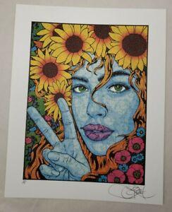 "Chuck Sperry ""Harmonia"" Blotter Art print signed artist proof a/p"