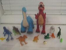 Huge Lot Rare 12+ Dinosaurs Mega Imaginex Apatosaurus T Rex HTF Toys Moves Sound