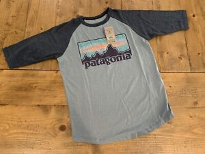 NWT Patagonia Solar Ray's '73 Kids Size Small (7/8) Feather Gray