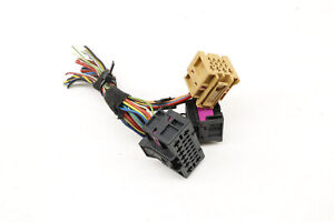 06-12 PORSCHE CAYMAN 987 - Rear Body Module / Bcm Wiring Connector / Pigtail Set