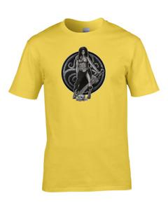 GAULISH WARRIOR- Celtic Tribeswoman Character - Men's T-Shirt