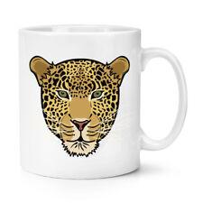 Muso Leopardo 10oz Tazza - Divertente Animale