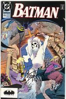 Batman 455 DC 1990 NM- Signed Norm Breyfogle Tim Drake Robin