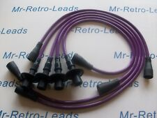 PURPLE 8MM PERFORMANCE IGNITION LEADS WILL FIT VW BEETLE & T2 1968-1979 QUALITY.