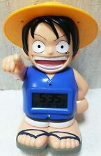 HTF Special Rare Japan Only Limited Anime One Piece Luffy Talking Alarm Clock