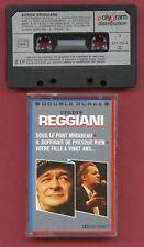 K7 Audio - Serge Reggiani - Double durée - Compilation