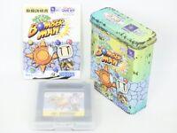 Nintendo Game Boy POCKET BOMBERMAN Game Can 9 Item Ref/ccc Japan Game gb