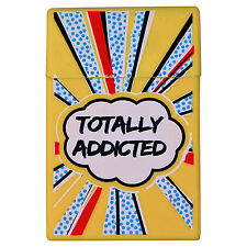 Silicone Cigarette Case - Totally Addicted 20 pack cover cig packet cool gift