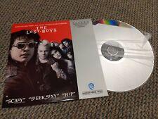 The Lost Boys Laserdisc Horror Comedy Corey Feldman Corey Haim Jami Gertz