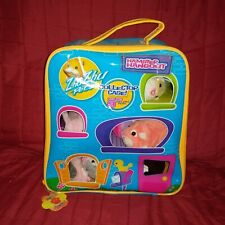 Zhu Zhu Pets HAMSTER HANGOUT Storage Carrying Case with 10 Hamster Pets Cepia