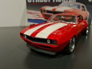 1/18 rare gmp 1969 street fighter camaro in red mint condition, limited edition,