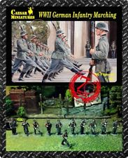 Caesar Miniatures 1/72 German Infantry Marching (WWII) # 081