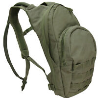 CONDOR #124 MOLLE Hydration Carrier  Hiking Camping Pack With Bladder OD Green
