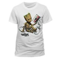 Guardians of the Galaxy Unisex T-Shirt Groot and Tape