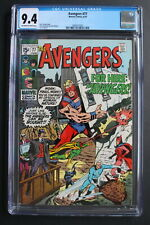 AVENGERS #77 1st HEROES FOR HIRE 1970 Vision Black Panther Scarlet Witch CGC 9.4