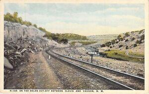 On The Belen Cut-Off Between Clovis & Vaughn, New Mexico, Fred Harvey