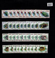 # 10X BELGIUM 1968 - MNH - FISH