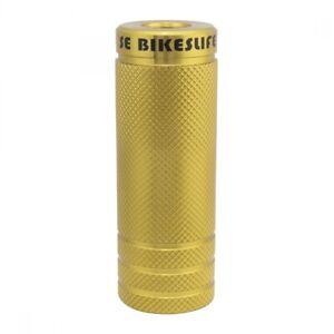 Se Bikes Wheelie Pegs Steel 14mm - 3/8` Gold