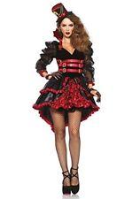 Leg Avenue Costume Vamp Victorienne pour Femme Noir/rouge Taille S