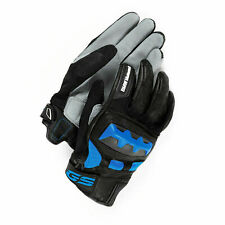 BMW Rallye Motorcycle Gloves Blue 7-7.5