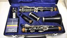 Vintage 1980's made in W. Germany Clarinet Buffet Case & Mouthpiece