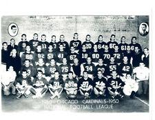 1950 CHICAGO CARDINALS  8.5X11 TEAM PHOTO  FOOTBALL NFL ILLINOIS USA