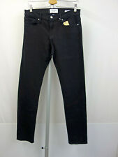 FRAME DENIM L´Homme Designer 5-Pocket Jeans W30 Men Pants Schwarz