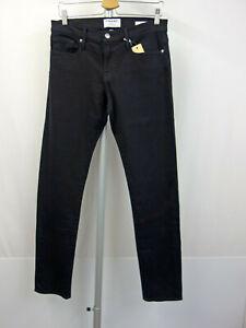 FRAME DENIM L´Homme Designer 5-Pocket Jeans W30 Men Pants Schwarz