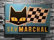 Enseigne S.E.V MARCHAL (50 cm x 34 cm x 5 mm épaisseur) déco garage