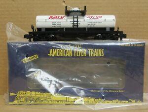 American Flyer 6-48285 Karo Syrup Tank Car S-Gauge LNIB