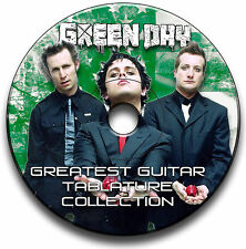 188x Green Day Rock Guitar Tab Tablature Song Book Anthology CD