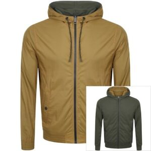 Hugo Boss Reversible jacket with drawstring hood Style Zince