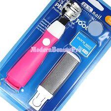 4 in 1 Callous Shaver Corn Cuticle Blade Remover Manicure Pedicure Tool- pink