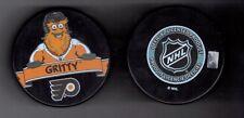 Gritty Philadelphia Flyers Mascot Souvenir Hockey Puck Inglasco