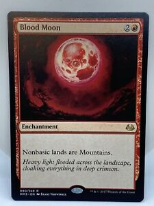 Blood Moon Modern Masters 2017 Magic the Gathering