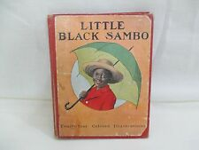 Scarce 1919 LITTLE BLACK SAMBO, by Helen Bannerman & RCA Victor 45 Record
