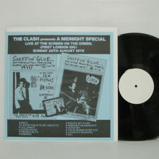 THE CLASH - A MIDNIGHT SPECIAL LP 29.08.1976 1st London LIVE SEX PISTOLS DAMNED