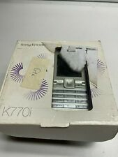 Sony Ericsson K770i Mobile Phone Old Stock Rare collectors MOBILE PHONE Cell