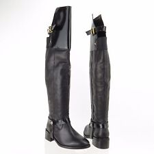 Top Shop Dreamer Women's Shoes Black Over the Knee Boots Size EU 37 NEW $210