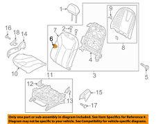 Front Genuine Hyundai 88450-2V500 Passenger Seat Back Pad Assembly