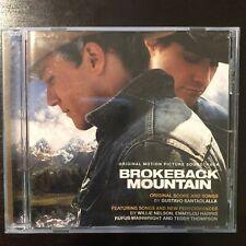 Brokeback Mountain Soundtrack CD