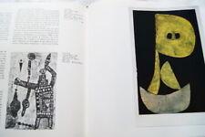 PAUL KLEE AUX SOURCES DE LA PEINTURE ROY ILLUSTRE 1963