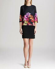 BNWT TED BAKER CADIE FLORAL BLOOM  PRINT TUNIC DRESS SIZE 1 UK 8 BRAND NEW