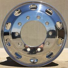 Accuride 22.5 Standard Polished 10 Lug Hub Pilot Wheel Round Hole Design