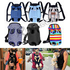 Pet Cat Dog Carrier Backpack Adjustable Pet Front Carrier Legs Out Travel Bag