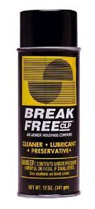 BreakFree CLP Gun Cleans Lubricates Prevent Aerosol Can, 12-Ounce/340gm,