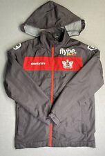 Exeter City FC Grey Windcheater Jacket Boy's XL Fold-Away Hood Flybe Carbrini