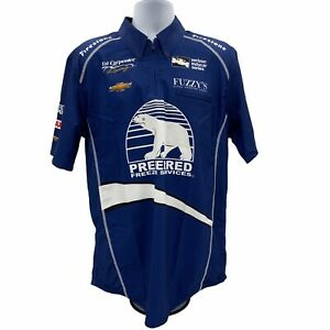 Ed Carpenter Indy Car Chevrolet Preferred Freezer Services Jersey Shirt XL