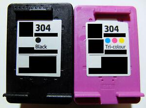 2 Druckerpatronen für HP 304 XL DeskJet ENVY 5000 5010 5030 5034 5055 5020 5032