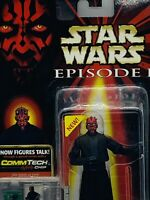 Darth Maul Star Wars Episode I Figure CommTech Collection 1 Hasbro 1999 New